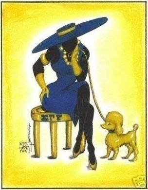 Our Favorite Pieces of African American Sorority Art is part of Sorority art, Sigma gamma rho, Sorority, Rho, Sigma, Greek paintings - Today we are showcasing ourA�Our Favorite Pieces of African American Sorority Art  Nothing like showing your sorority pride through your beautiful home!