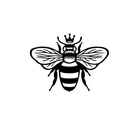 This queen bee decal is perfect for cars cell phones laptops and so much more this decal is made from high quality long lasting vinyl