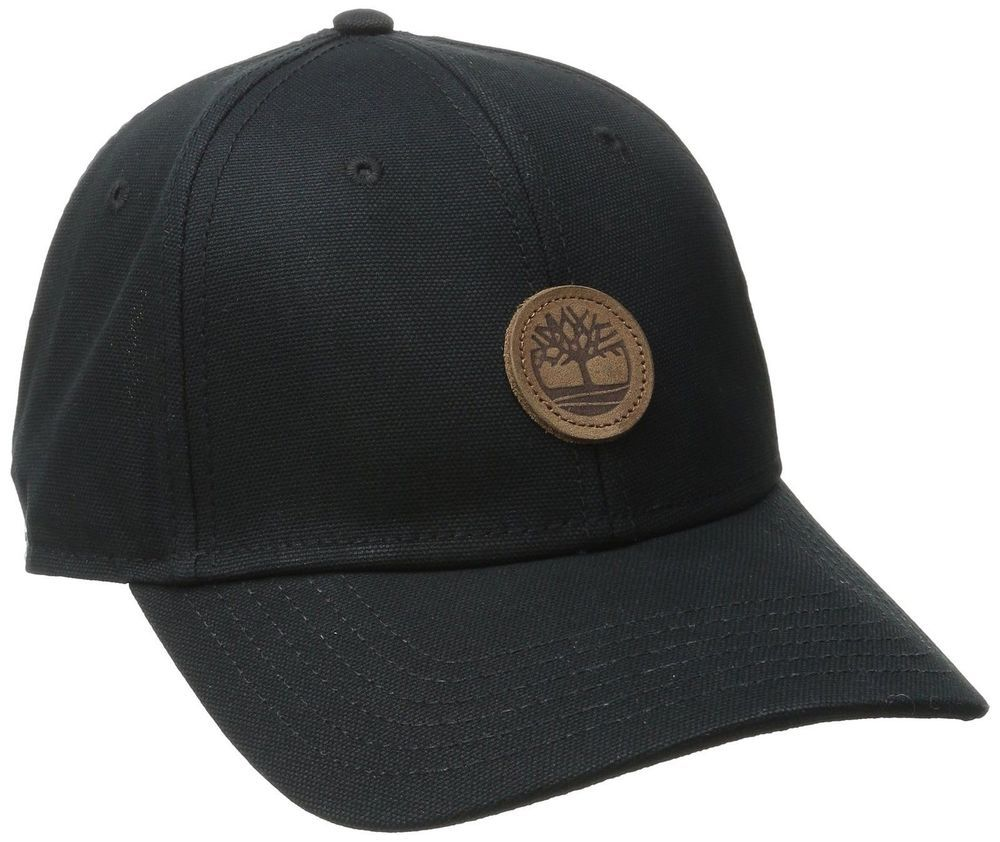 Timberland Men S Classic Baseball Cap Six Panel Curved Brim Color Black Size One Size High Quality Light Weight Timberland Mens Mens Hats Baseball Hats