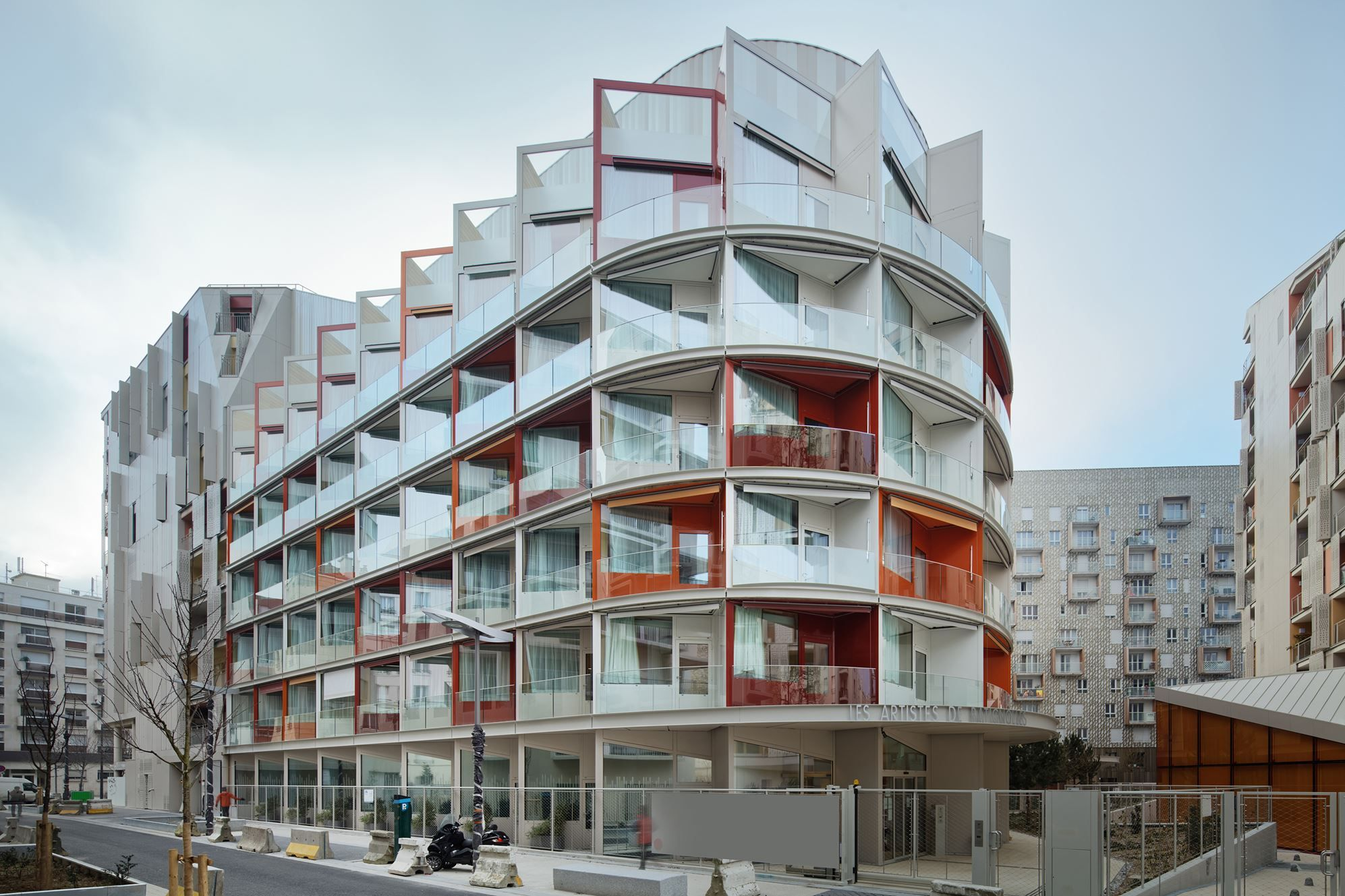 Nursing home clichy batignolles ecodistrict in paris picture gallery also rh pinterest