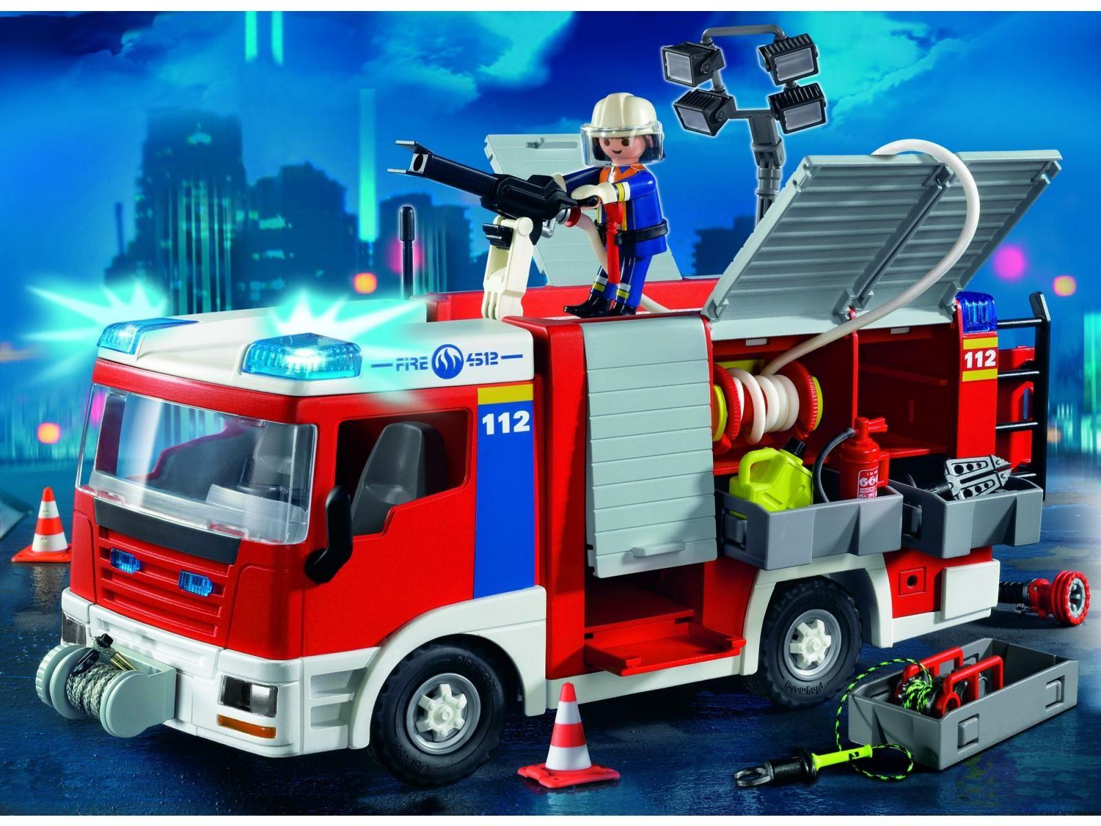bomberos - Playmobil Pompier