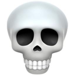 Skeleton Emoji Sticker Style Size Printable Emoji Stickers Emoji Skull