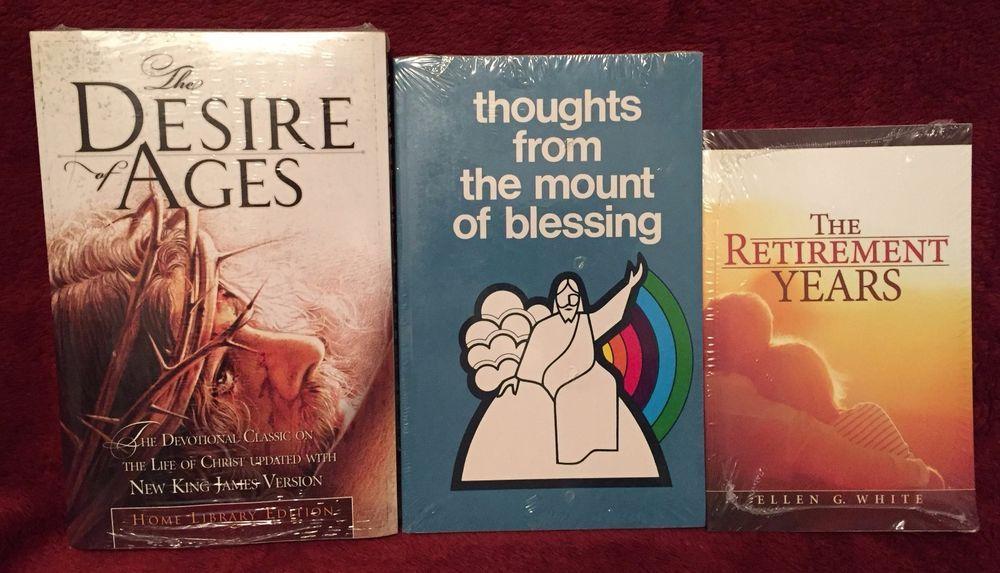 Ellen G White Books Trio: Retirement Years ~ Mount of