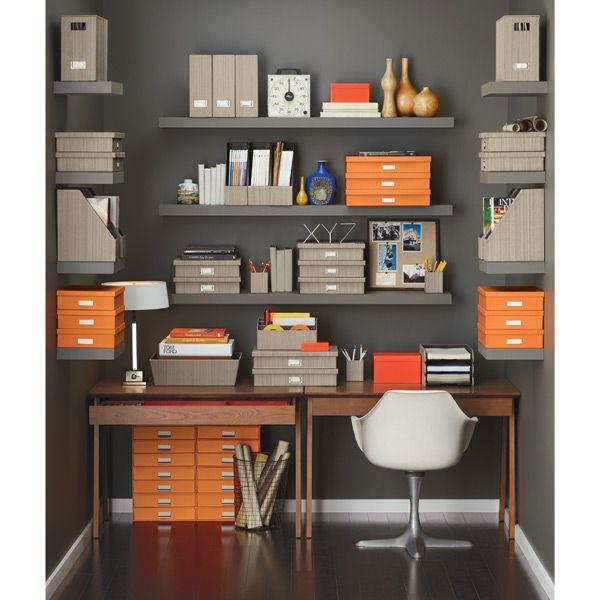 So Orange Stockholm Office Storage Bo