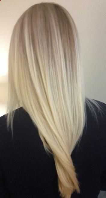 Soft Blonde Hair - Soft baby blonde hair color with ash ...