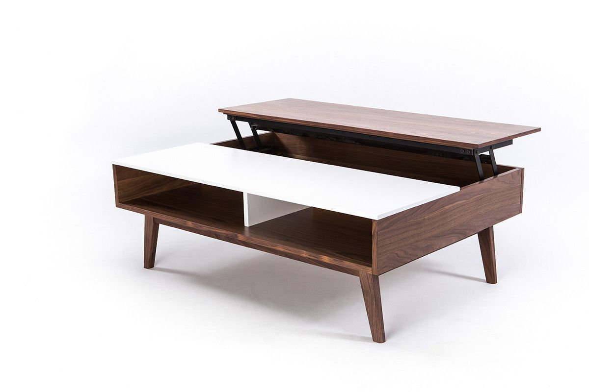 Lift Top Coffee Table Mid Century Modern 4