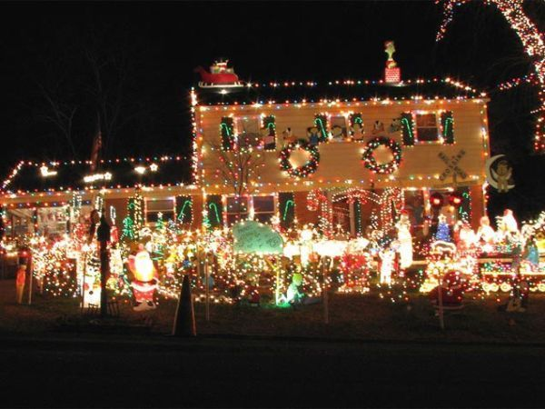 decoraciones navideñas de exterior 15 #christmaslightsoutdoors