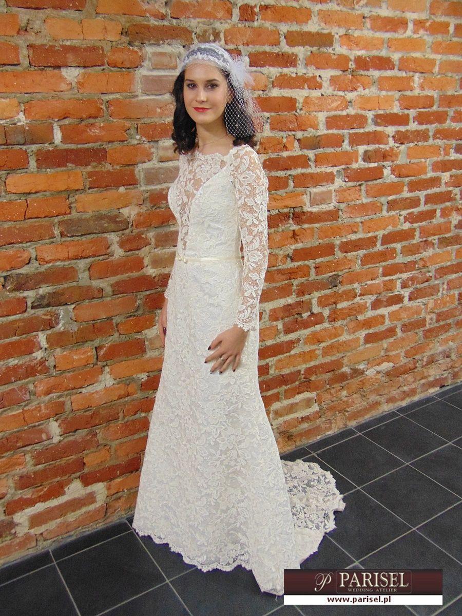 Suknia ślubna W Stylu Retro Zdjęcia Suknie
