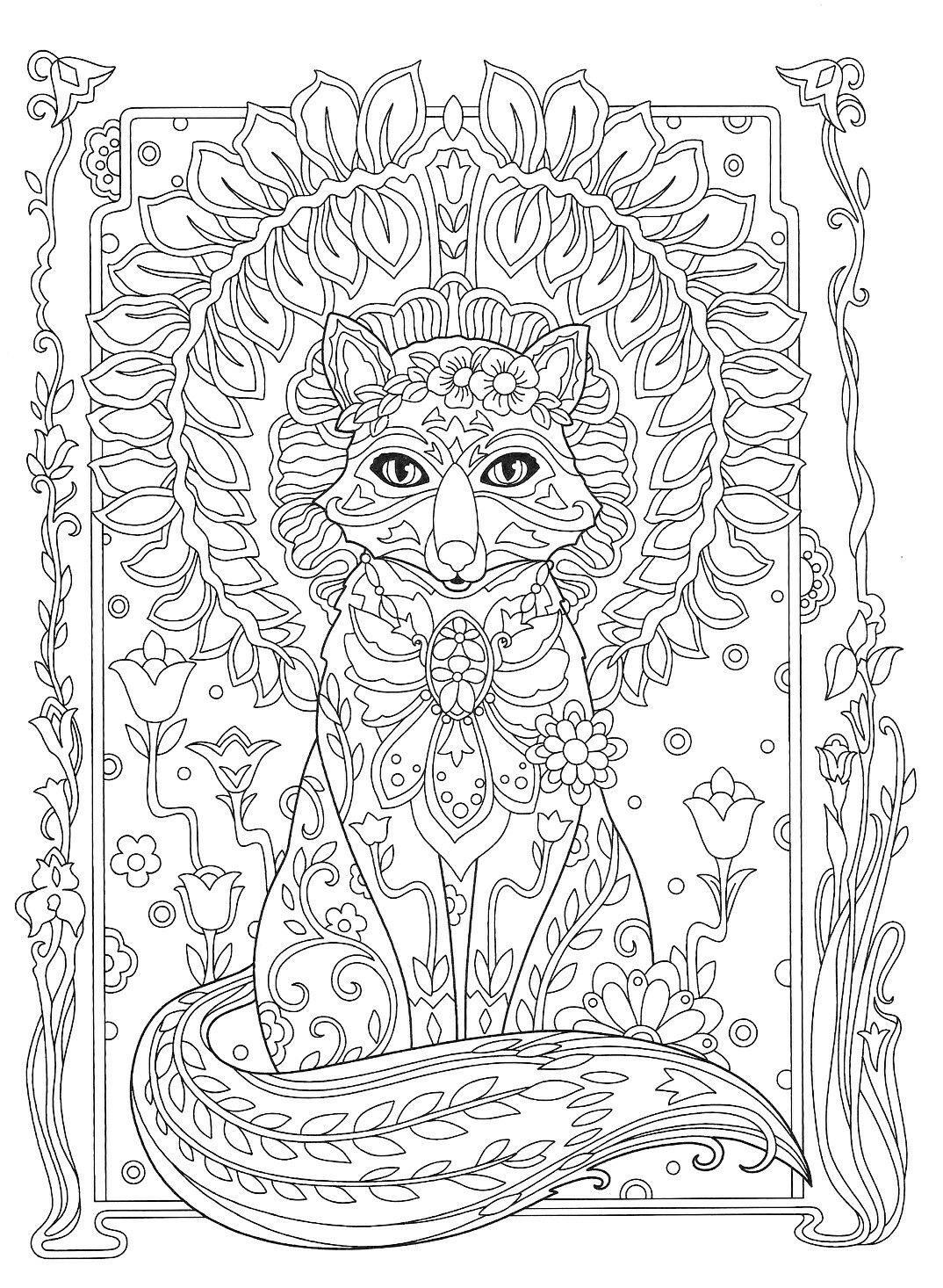 Pin von Elisabeth Quisenberry auf Coloring: Animals | Pinterest
