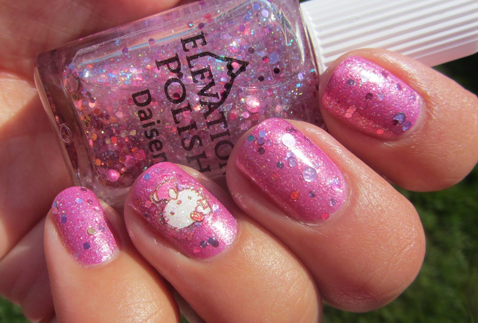 My Nail Polish Obsession: Hello Kitty Nails