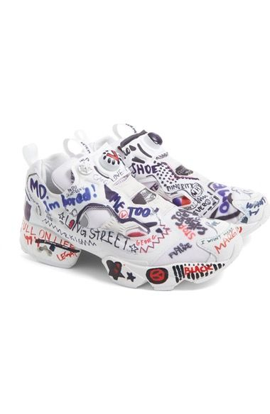 4eb5f6f4d6b 760 Vetements x Reebok Graffiti Instapump Fury Sneaker (Women) available at   Nordstrom