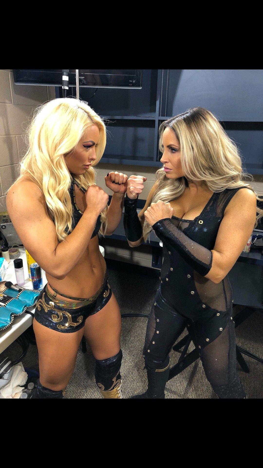 Mandy Rose & Trish Stratus | Women's Wrestling | Trish ...