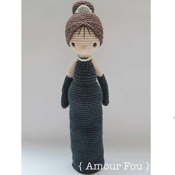 Holly Golightly Crochet Pattern by Amour Fou por AmourFouCrochet ...