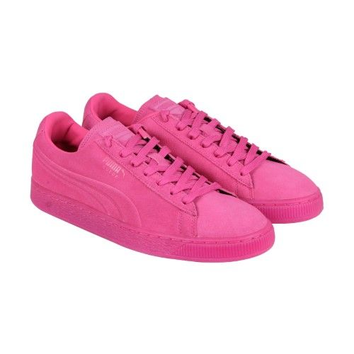 35893e600ea Puma Suede Iced Men US 13 Pink Sneakers