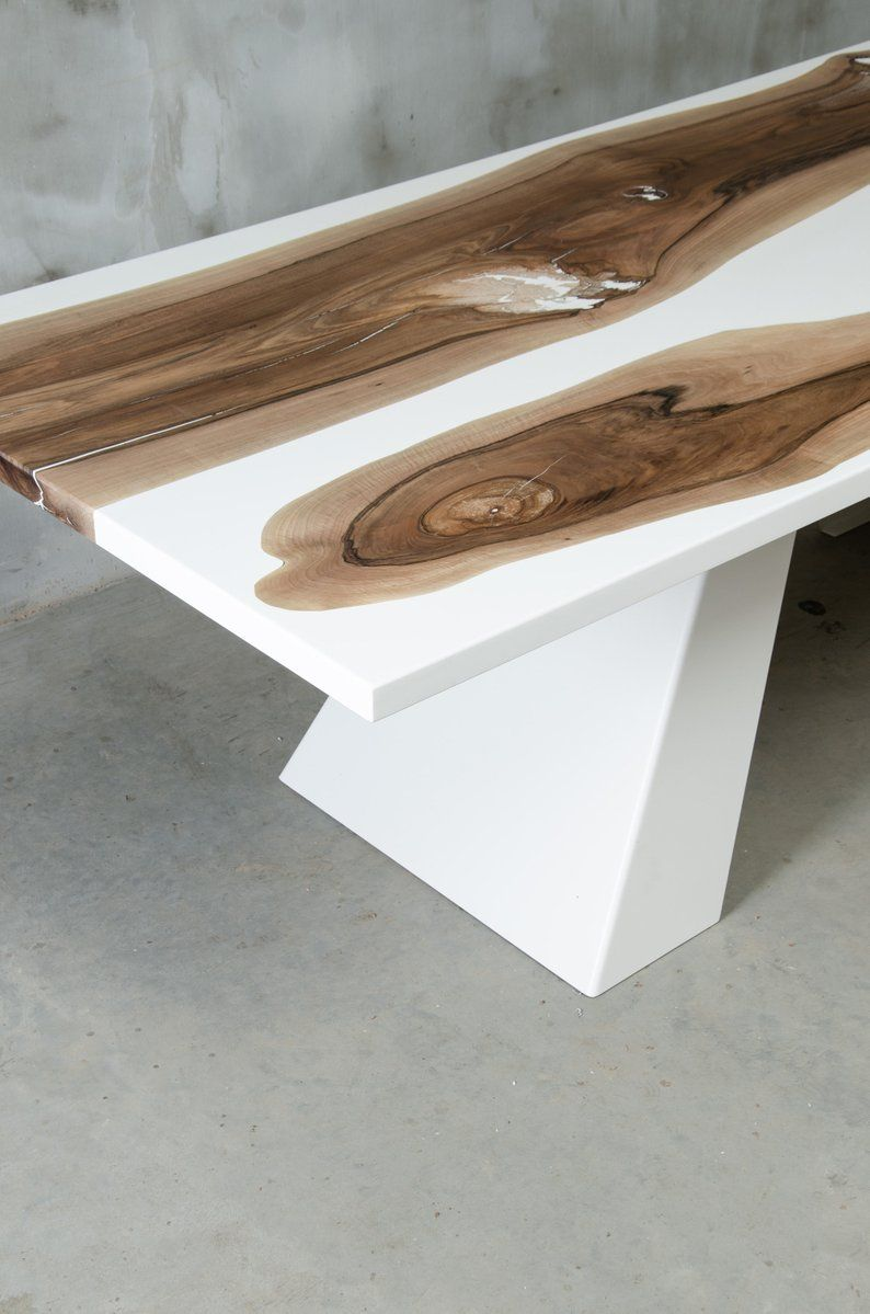 Available Live Edge Dining Table Epoxy Resin Table Epoxy