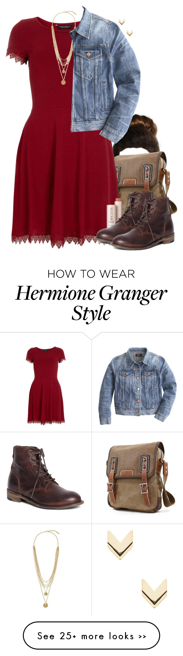 """""""hermione granger inspired house party outfit""""hpstyle"""