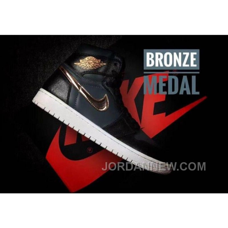 """2017 Mens Air Jordan 1 Retro High """"Bronze Medal"""" Free Shipping, Price: $94.00 - Air Jordan Shoes, Michael Jordan Shoes - JordanNew.com"""