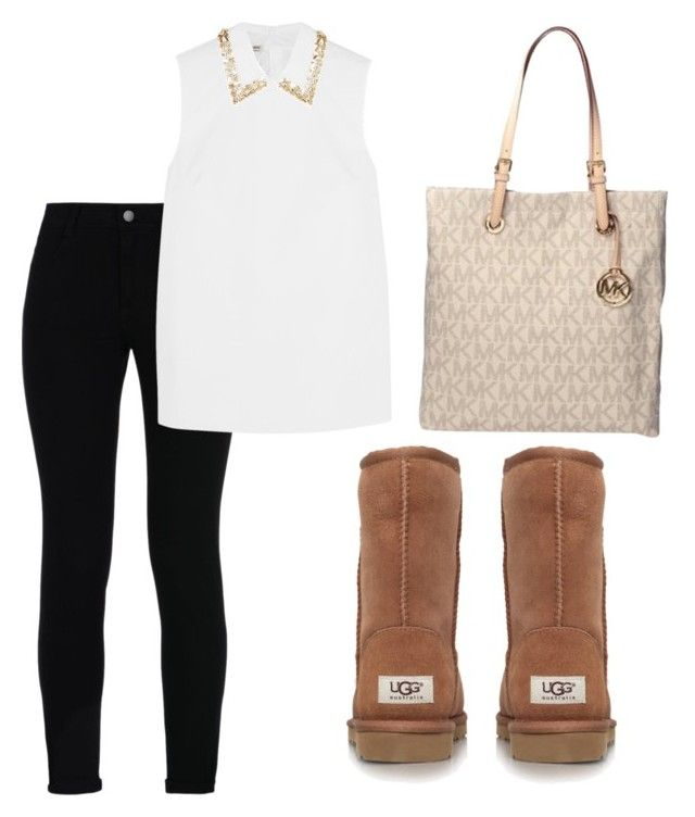 """""""Mk and Uggs"""" by melw44 ❤ liked on Polyvore featuring STELLA McCARTNEY, Miu Miu, UGG Australia and Michael Kors"""