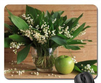 Lily Of The Valley Mouse Pad Mousepad Flowers Mouse Pad Amazon