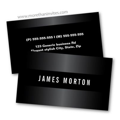 Elegant Dark Business Cards Masculine Design For Men Maybe For A Lawyer Professional Business Cards Templates Stylish Business Cards Business Card Template