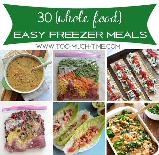 Main Ingredient Recipes: Main Ingredient Monday- 30 Healthy Freezer Meals