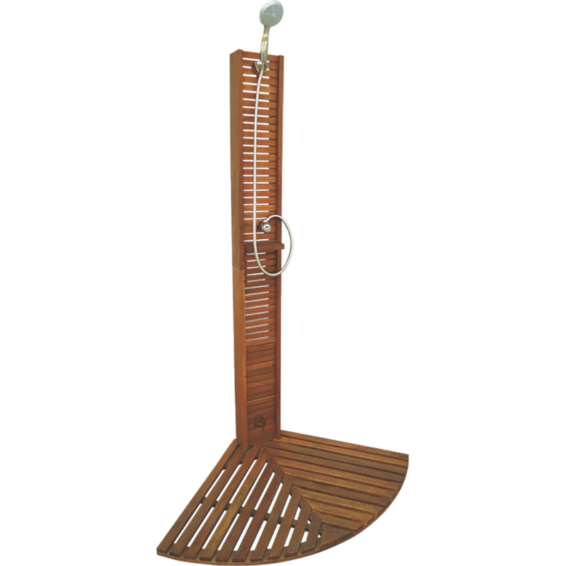 Mimosa Outdoor Timber Shower SKU 03191399   Bunnings