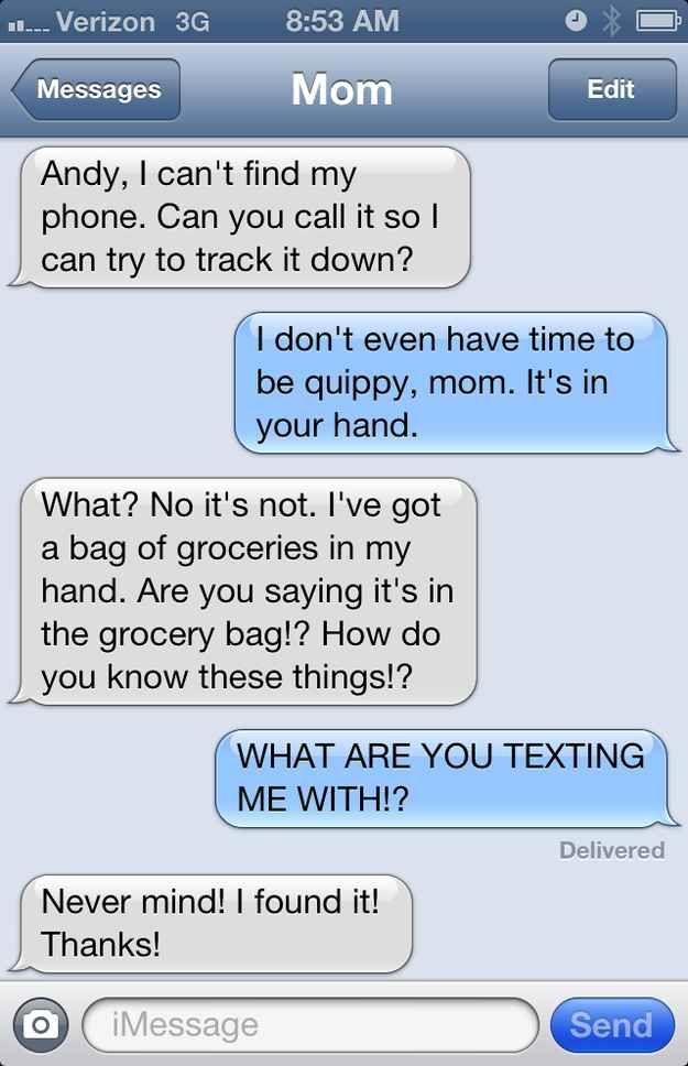 "23 Mom Texts That Make You Go ""MAAAHM!"""