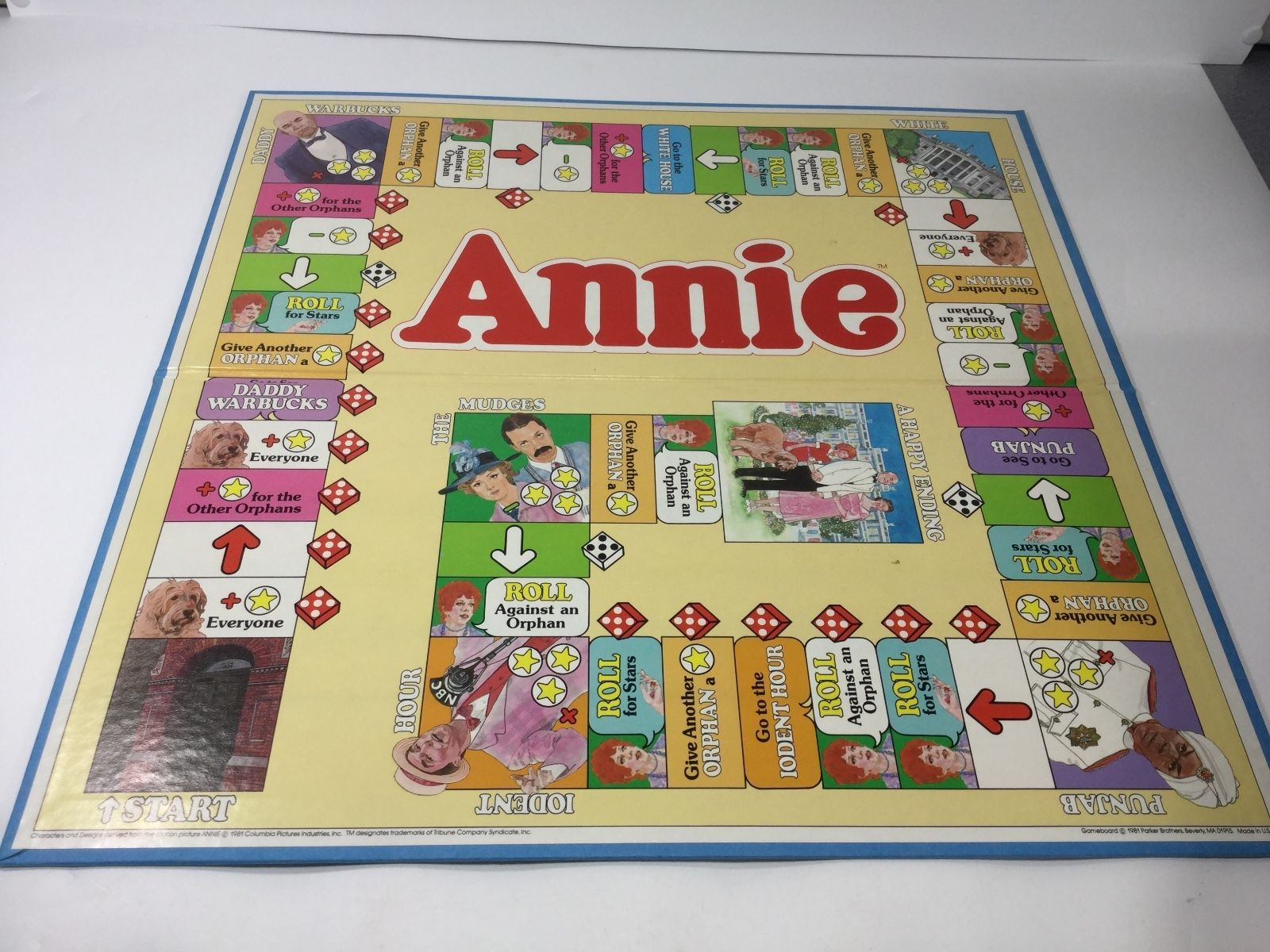 Vintage Annie The Path To Happiness Board Game 1981 Parker Brothers Complete Toys Hobbies Games Board Traditi Vintage Board Games Board Games Games