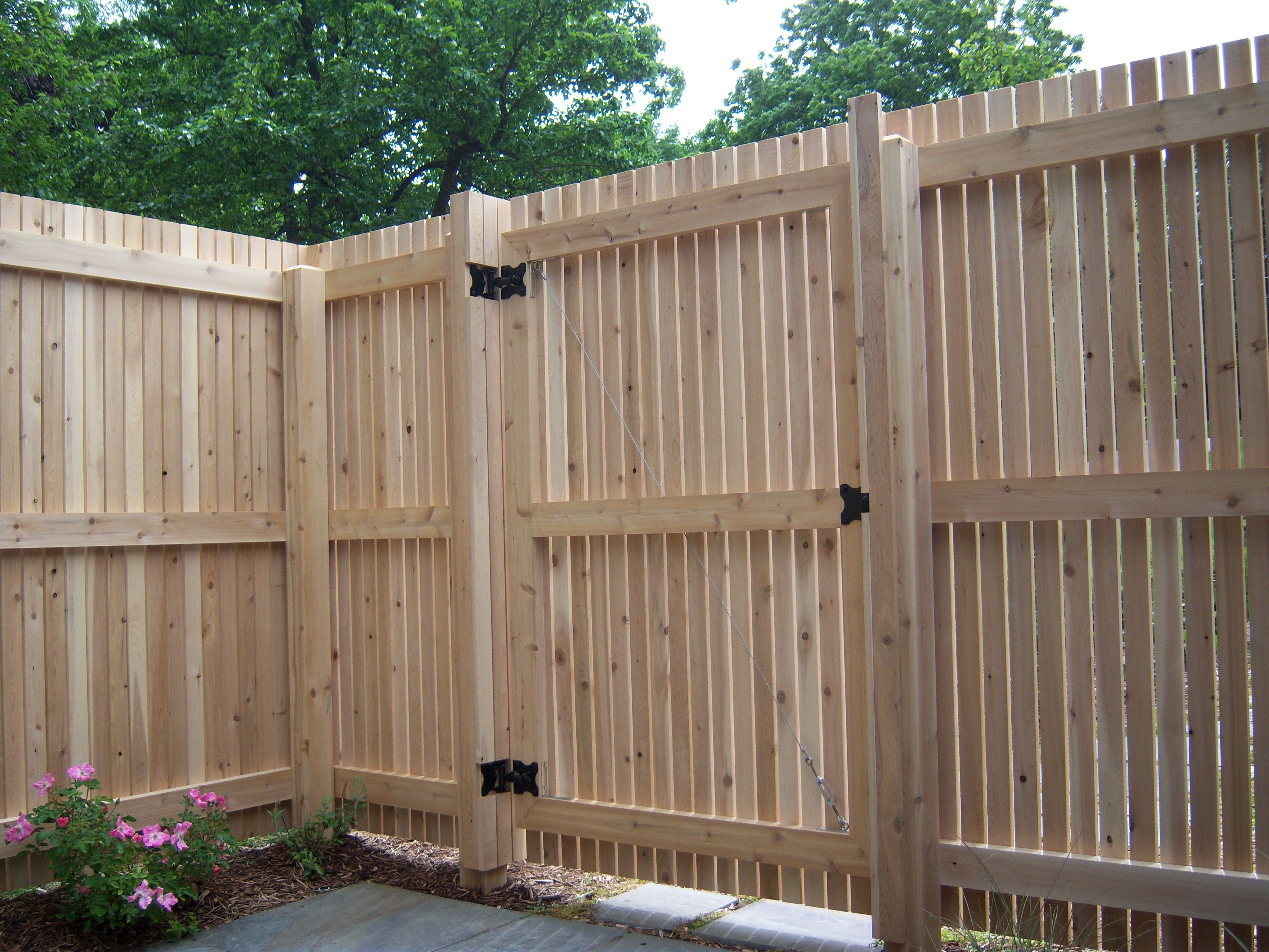 How To Build A Wood Fence Gate Wood Fence Design Fence Gate