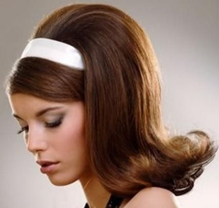 Long Straight Hairstyles « VIP Hairstyles | 50s hairstyles, Hair styles,  Vintage hairstyles