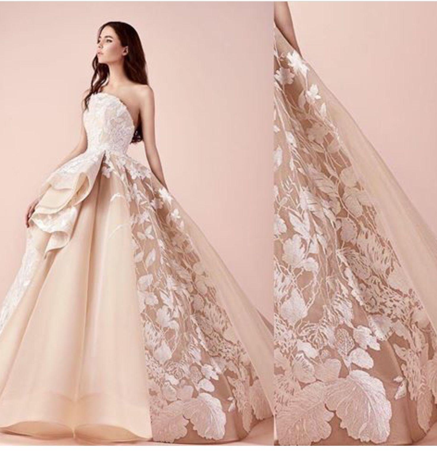 Pin de Brides by Liza en Wedding Color pink dresses and etc.   Pinterest