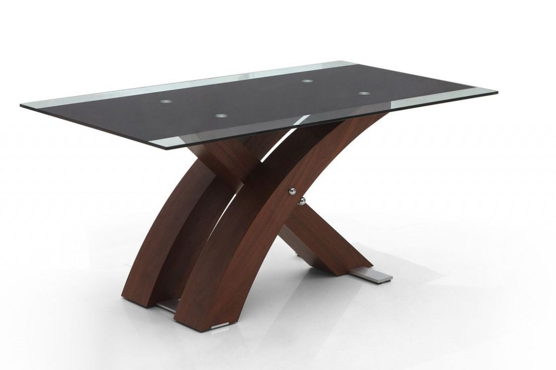 Stunning Wood Table Bases For Glass Dining Table Bases Wood