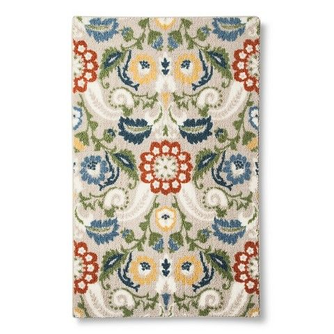 Maples Floral Accent Rug From Target 15 40 Accent Rugs Rugs