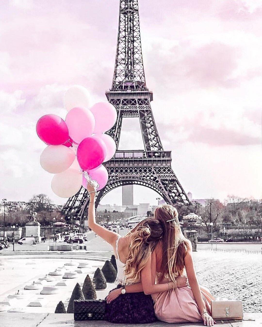 Открытка днем, самые красивые картинки с девушками в париже