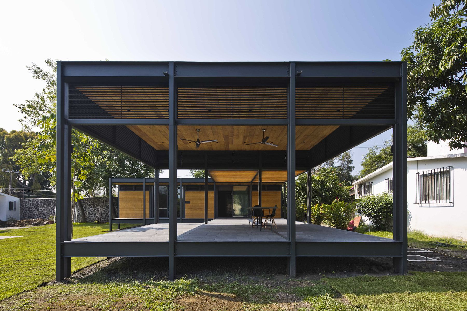 Casa Molina Onnis Luque Casas Estructura Metalica Casas De