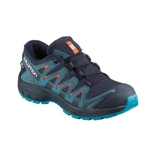 home accessories trends #home #accessories #homeaccessories Childrens Salomon XA PRO 3D ClimaSheild Waterproof Shoe - Navy Blazer Hiking Shoes
