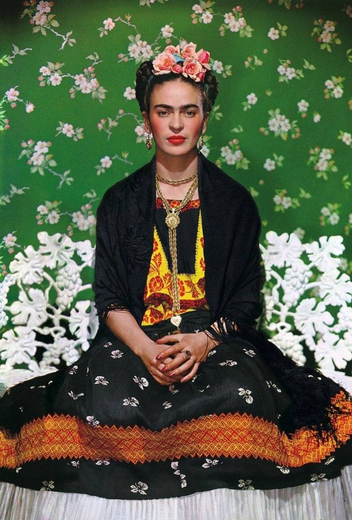 Frida Kahlo For Vogue 1938 Photographed By Nickolas Muray With