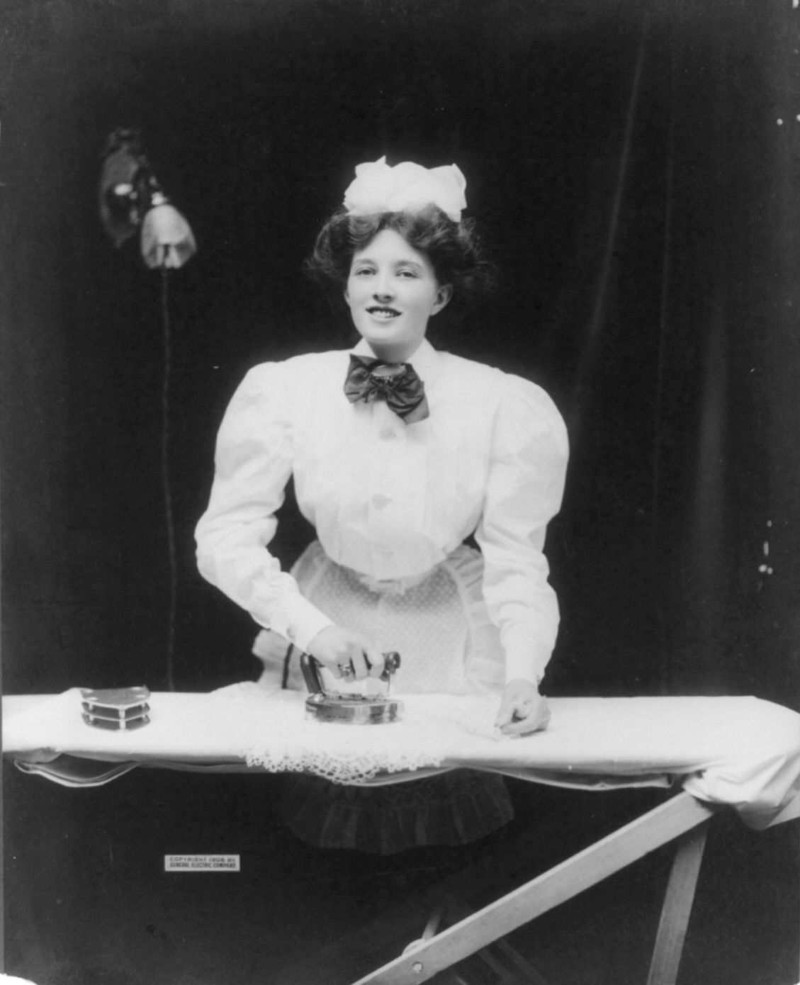 Electric Irons From The 1900s ~ Domestic servant ironing s in fashion wikipedia