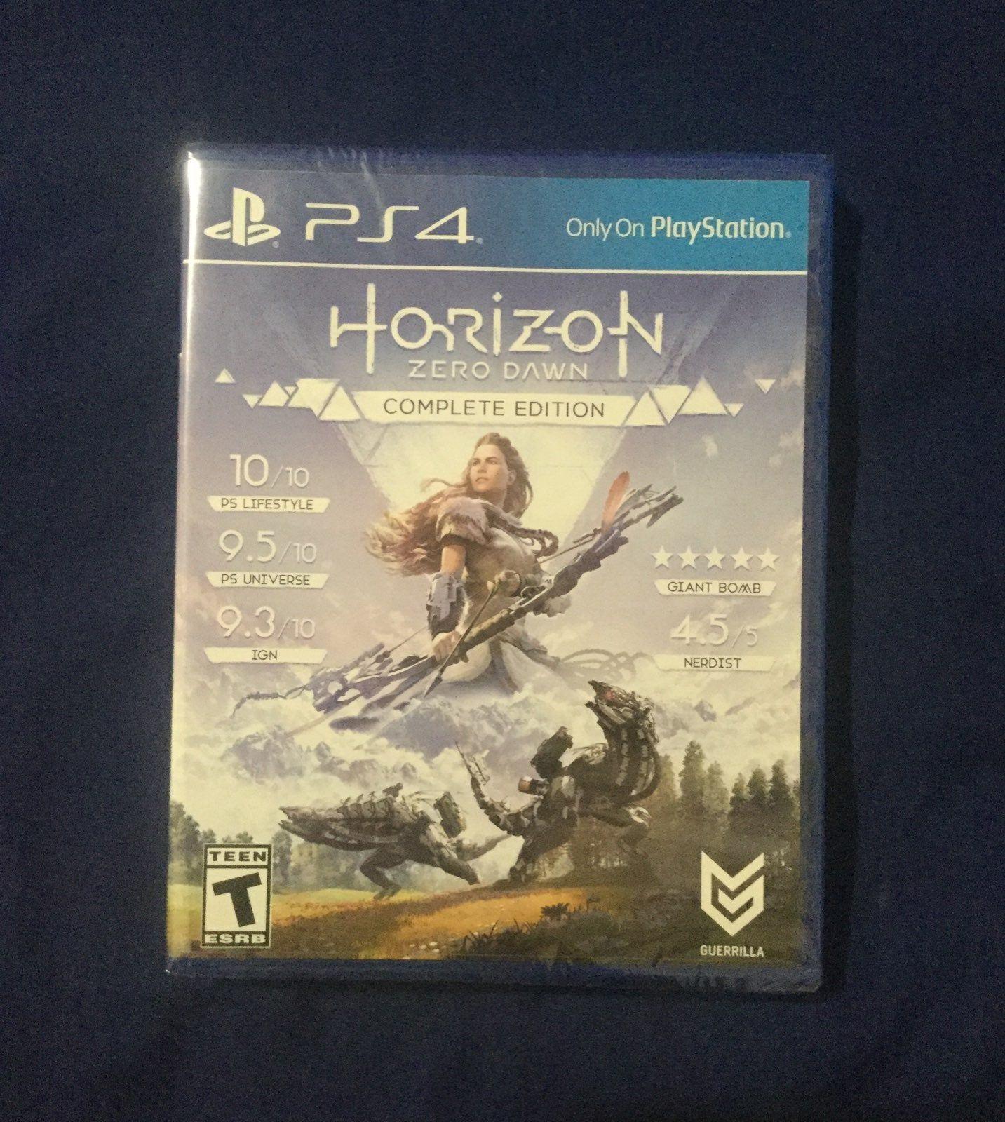 Horizon Zero Dawn Complete Edition For The Sony ...