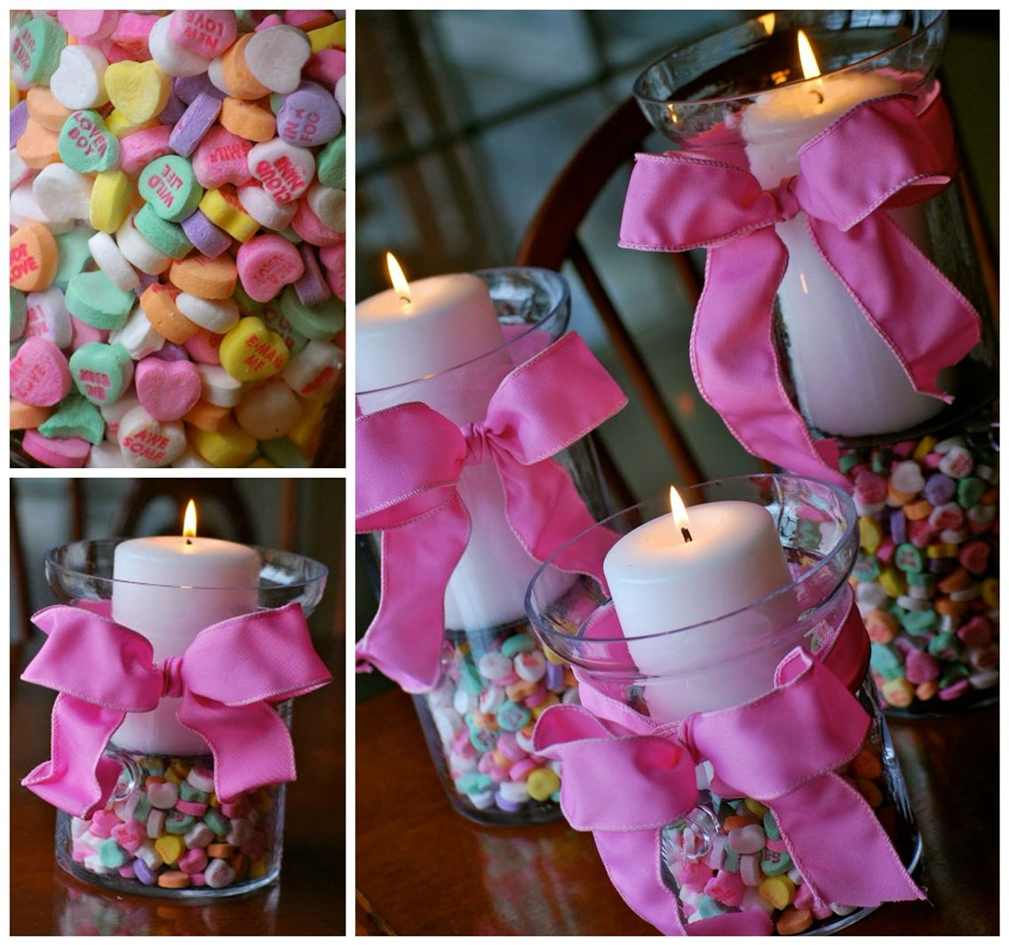 Valentine Party Ideas For Church - Valentine votive