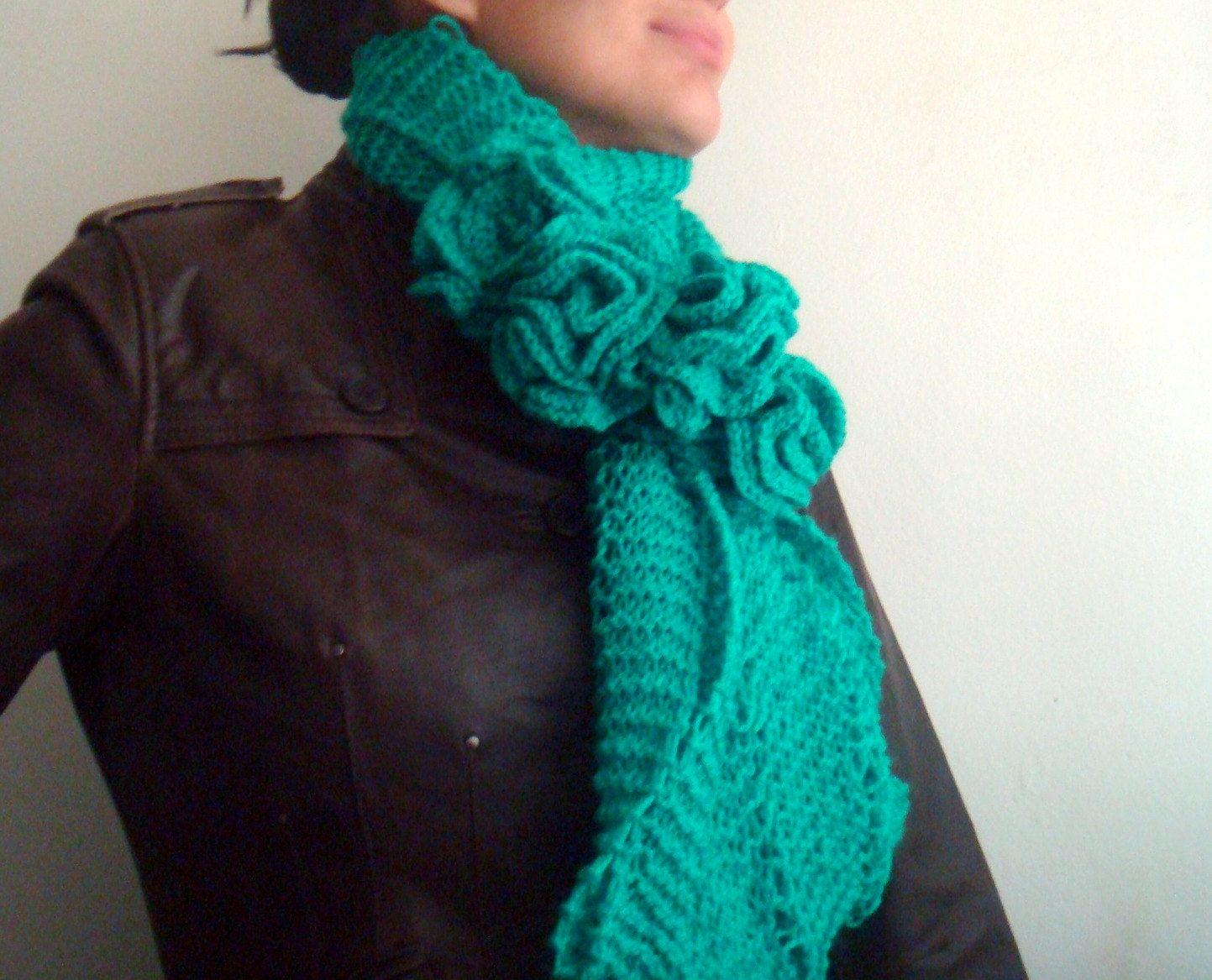 Infinity Scarf Pattern Knit Circle Scarf Pattern Snood ...