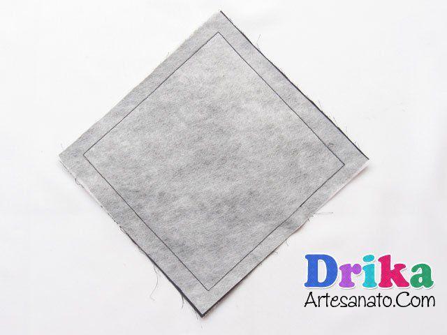 Porta lenços feitos com tecido