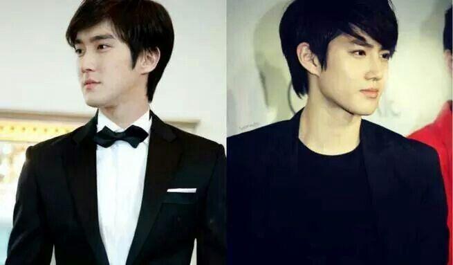 Siwon And Suho Looks Like A Twins Agree Korean Celebrities Siwon Celebrities