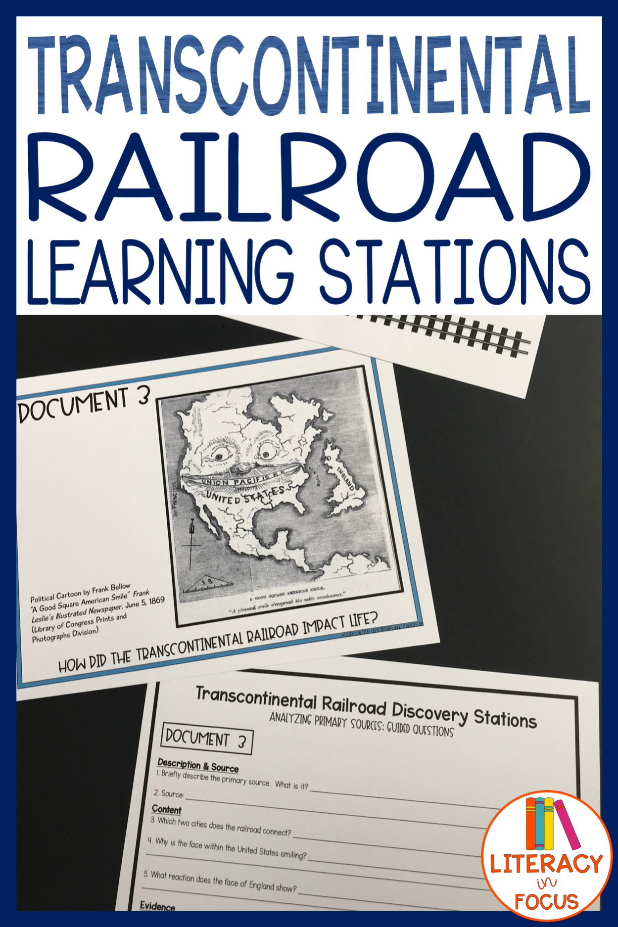 Photo of Transcontinental Railroad Activity and DBQ