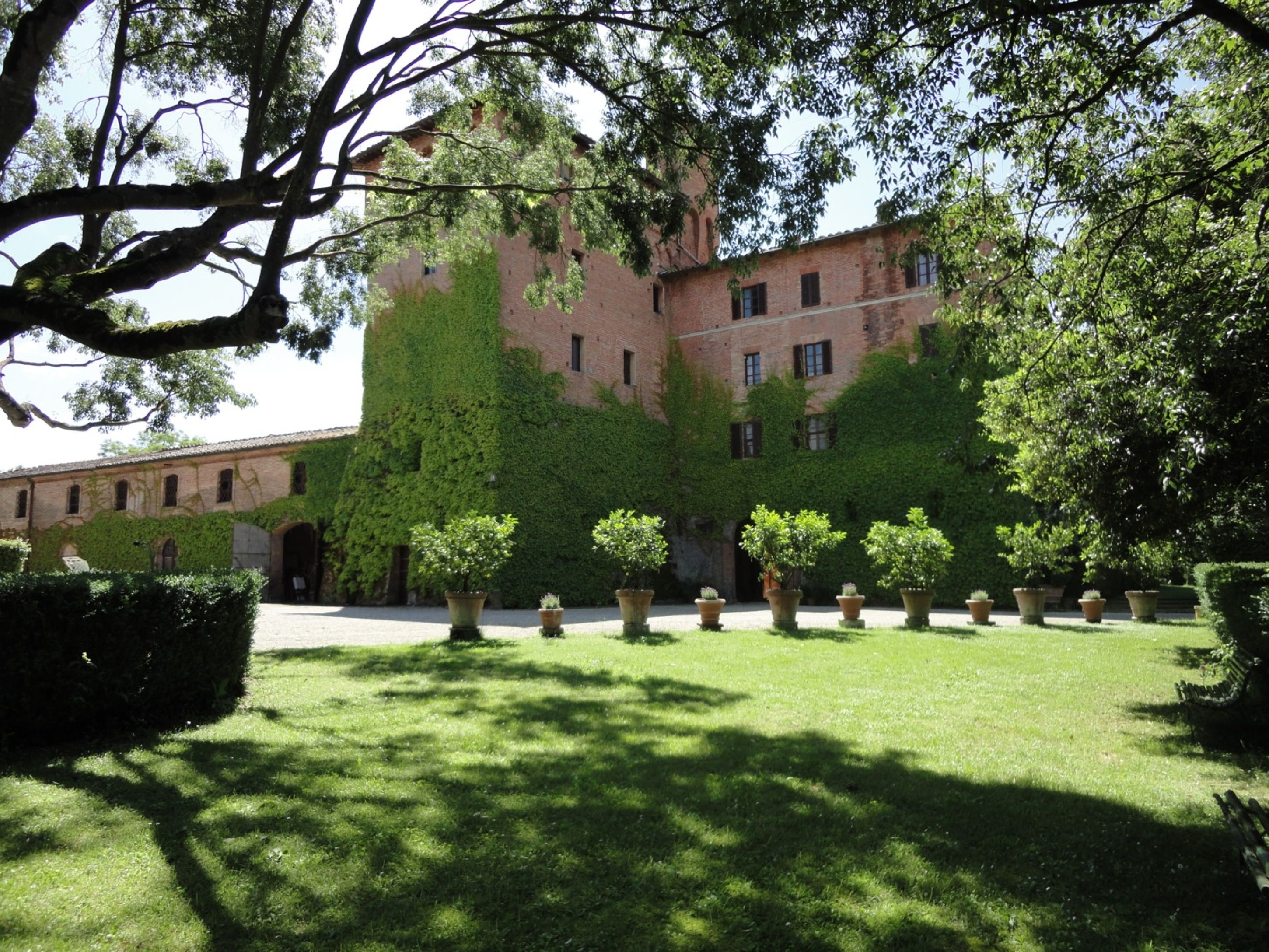 Castle of San Fabiano's Tower, the Main Villa, and the Old