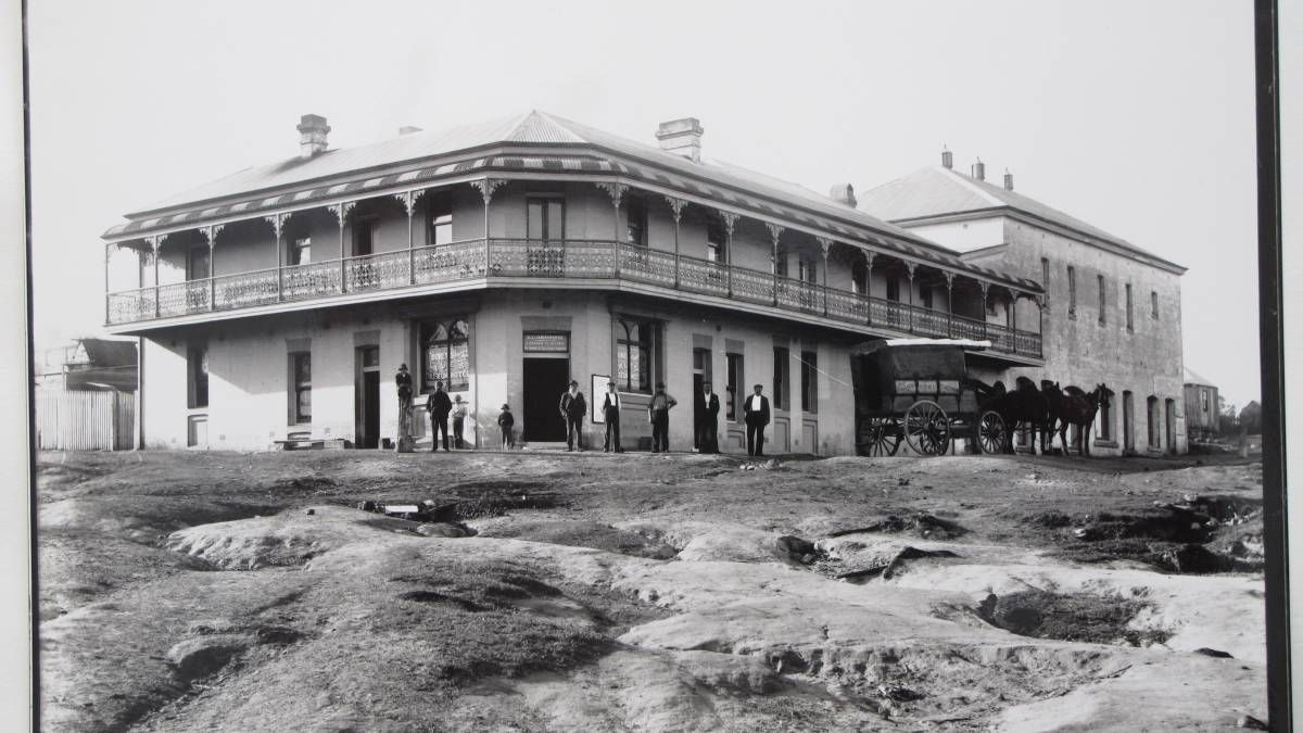 Museum Hotel At West Wallsend New South Wales In 1900 History