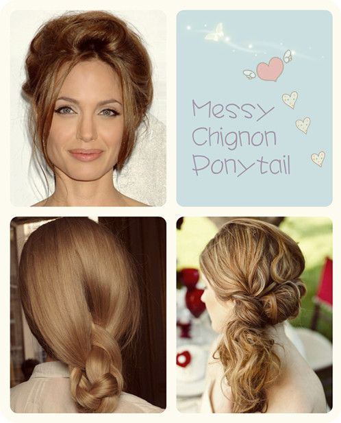 8 Top Trending Hairstyles For Campus Girls Messy Chignon
