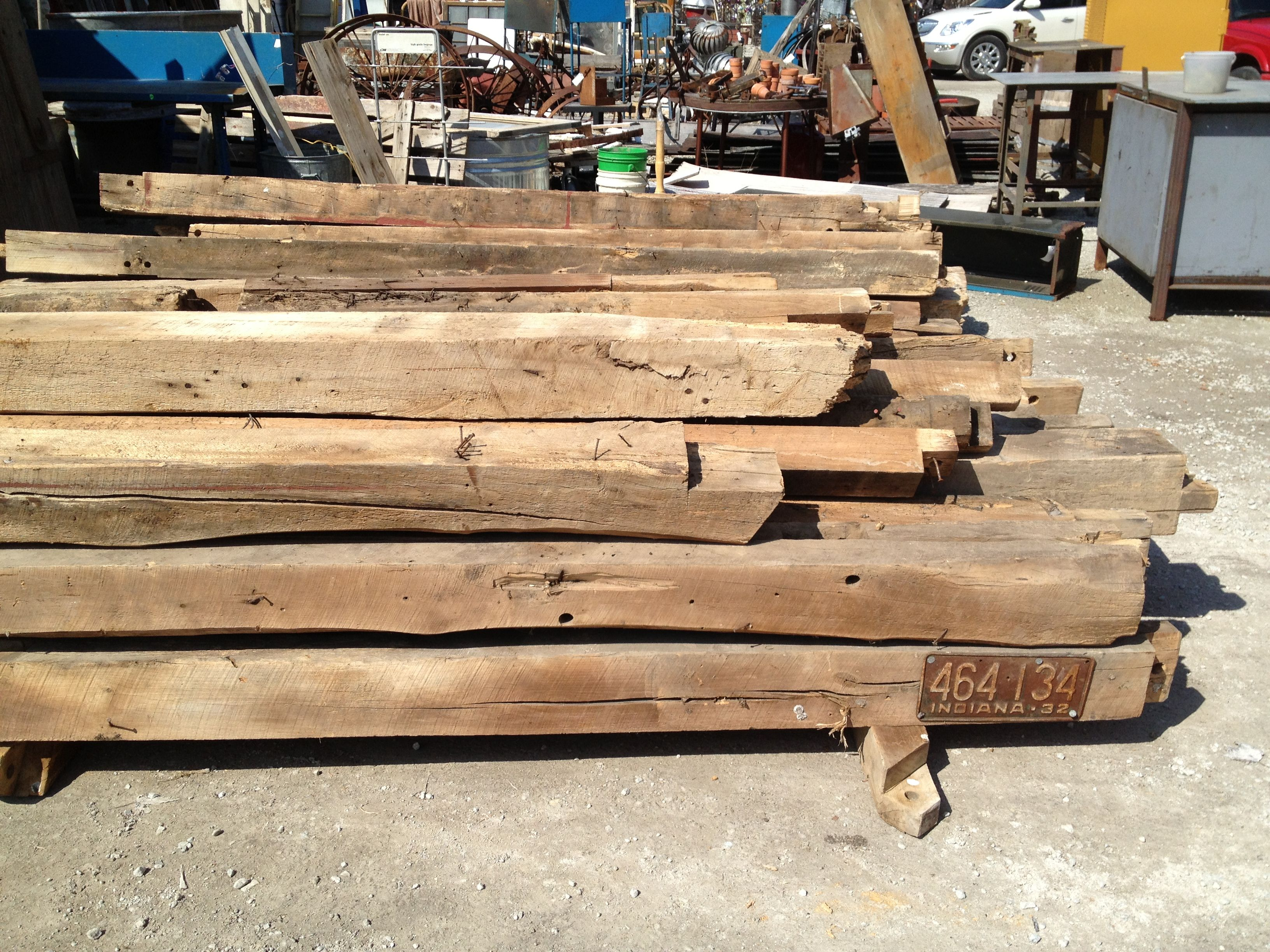 Old Barn Beams 85 Each Future Covered Fireplace