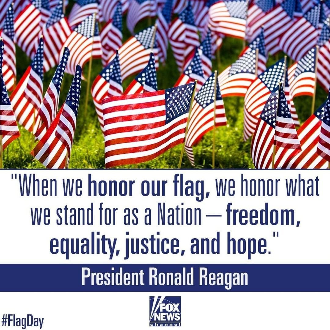 Fox News On Instagram Today Fox News Celebrates Our Nation S Flagday Tell Us What The U S Flag Means To You Proudamerican