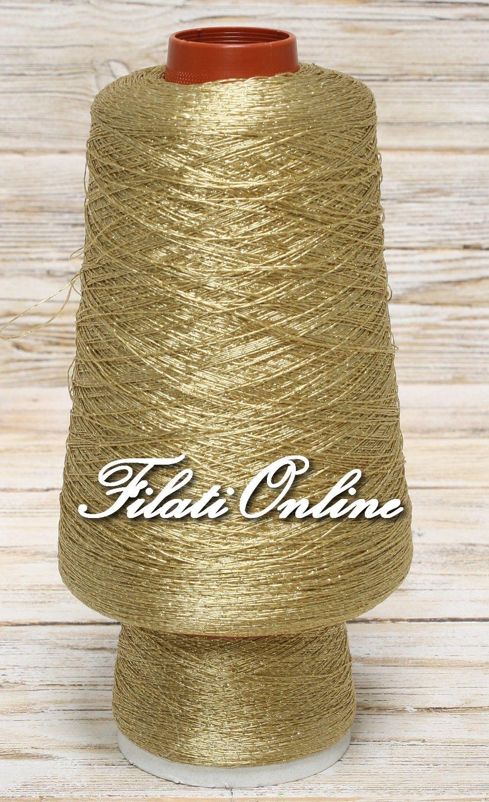 7b913420454a AL100 filato oro con lurex oro per abiti eleganti